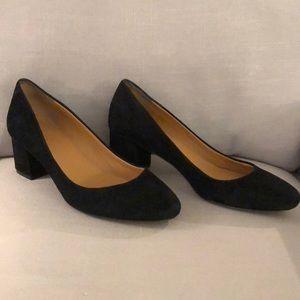 Jcrew black heels